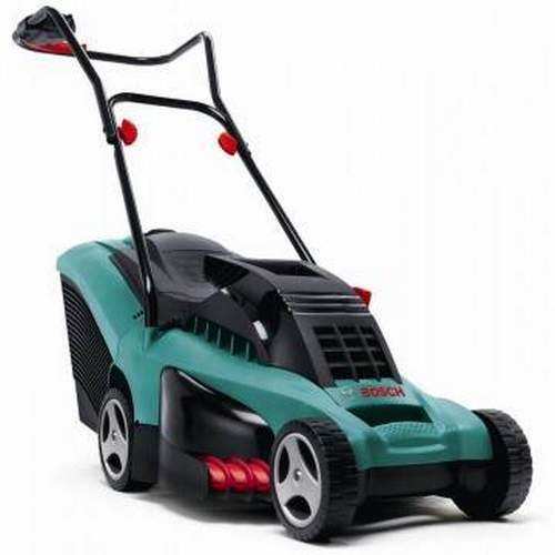 Bosch Rotak 40 Electric Lawn Mower. Powerful, Quiet, Reliable