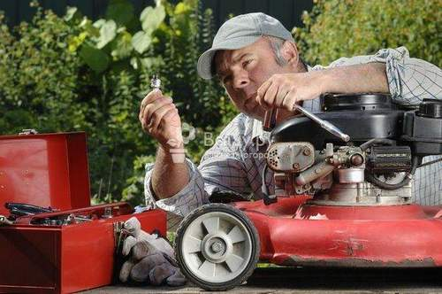 Features of Self Repairing Gasoline And Electric Lawn Mowers. Consider The Items