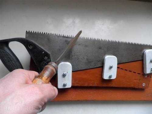 Hacksaw Sharpening Wood Angle Grinder