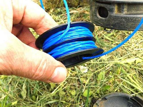 How to Change Or Winding Fishing Line On A Trimmer Coil: Ways And Nuances Of Winding, Winding With Your Hands