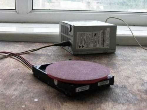 How to Make a Belt Sander