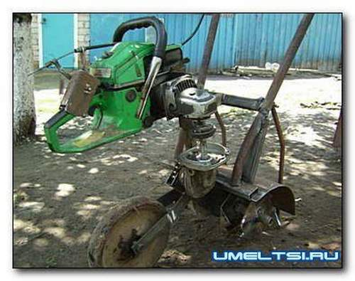 How to Make a Chainsaw Cultivator