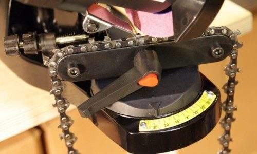 How to Sharpen a Saw Chain at Home