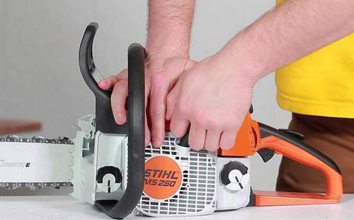 How to Start a Stihl Ms 180 Chainsaw