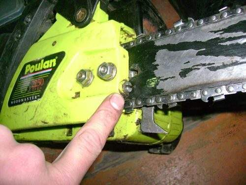 How to String a Chain on a Stihl Chainsaw