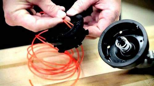 How to Wind a Fishing Line onto a Trimmer Coil: Refuel, Which is Better, Change
