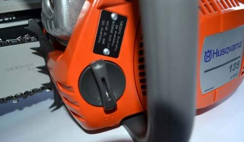 Husqvarna Chainsaw Doesn't Develop Turnovers