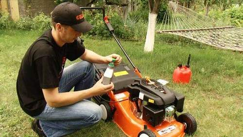 Lawn Mower Gasoline. User manual