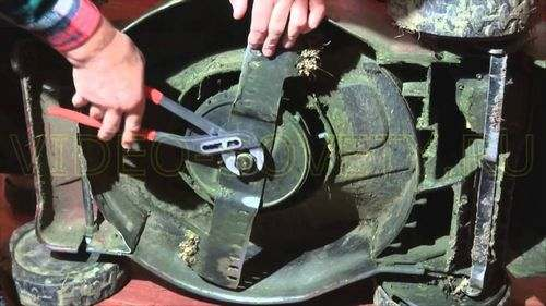 How to Sharpen a Knife On a Lawn Mower Mak Allister