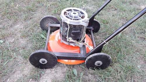 How to Make a Mechanical Lawn Mower at Home