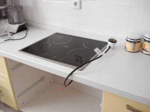 how to connect a bosch hob