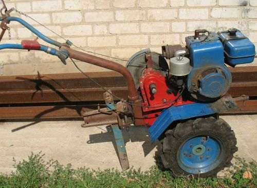 which engine is better for a tiller