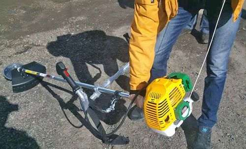 Chinese lawn mower won't start
