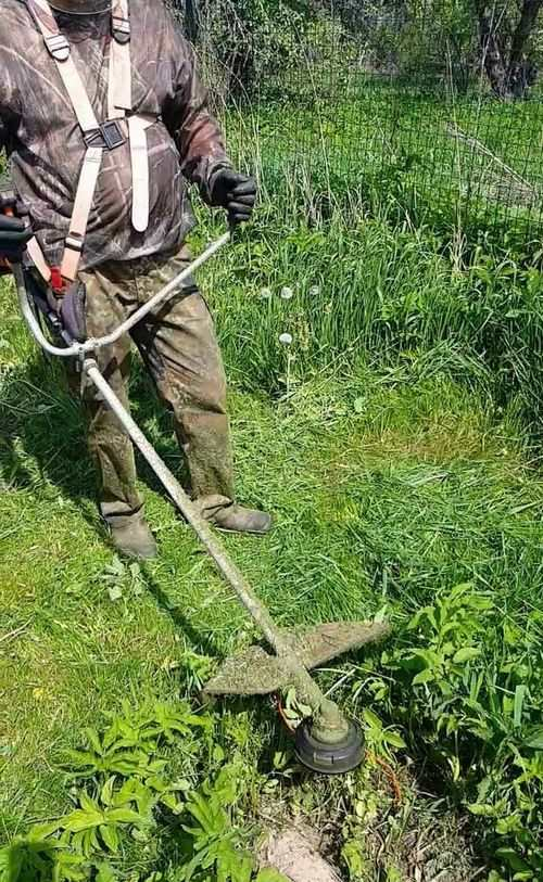 How To Properly Mow Grass With A Trimmer With A Disc
