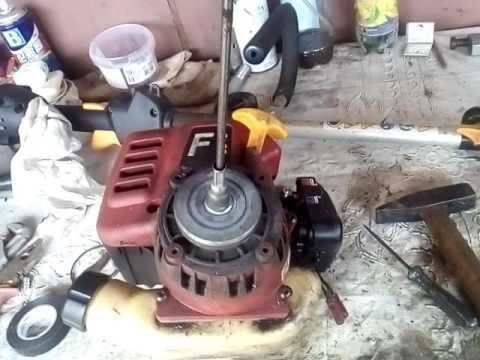 How To Disassemble A Petrol Trimmer