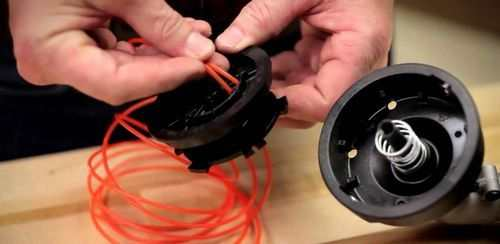 How To Fill The Trimmer Coil