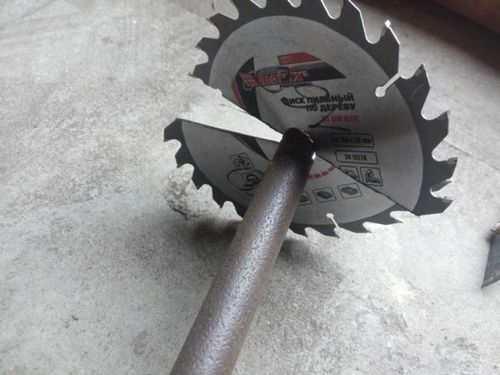 Chainsaw Excavation Drill Bit