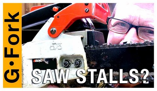 Chainsaw Stalls When Gas Is Applied