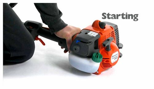 How To Start A Petrol Trimmer On A Cold