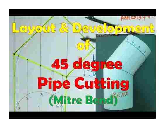 cutting, profile, pipe, degrees